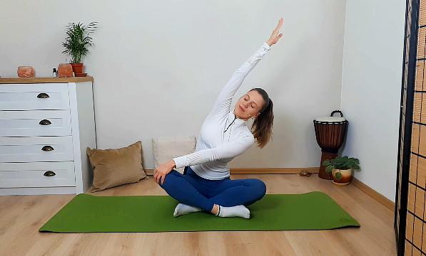 Jemná ranná joga - 10 minút