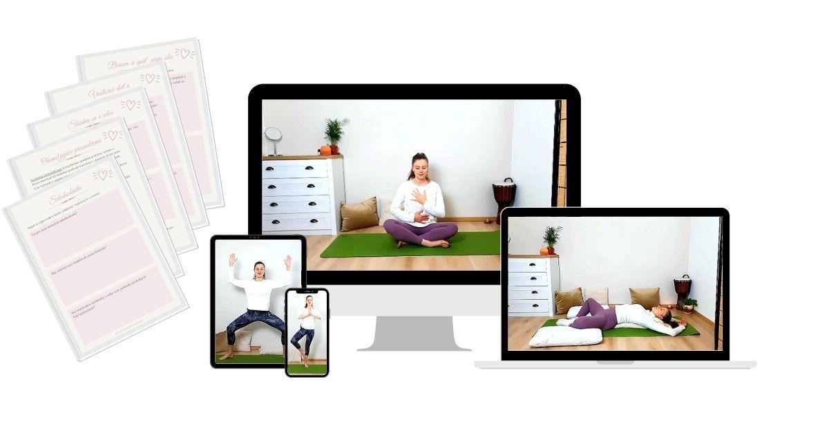 Online kurz Joga pre sebalásku