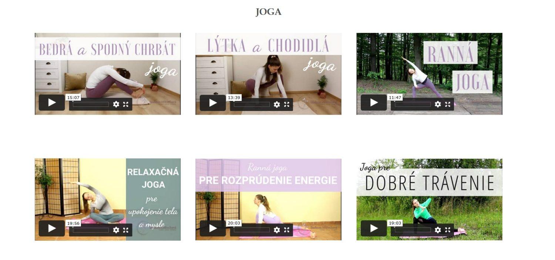 Ukážka video-lekcií v online štúdiu